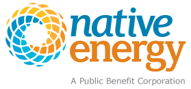 Native Energy: A Public Benefit Corporation Logo