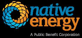 Native Energy: A Public Benefit Corporation Logo