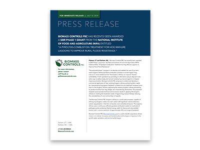 Press Release SBIR