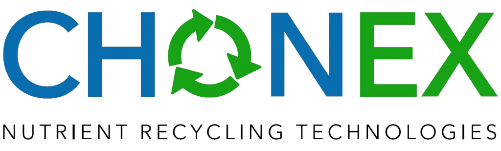 CHONEX Logo, Nutrient Recycling Technologies
